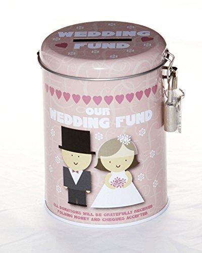 Boxer Gifts - Hucha (lata), diseño de boda
