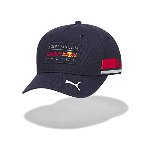Red Bull Racing Official Teamline Cap, Blau Youth One Size Kappe, Racing Aston Martin Formula 1 Team Original Bekleidung & Merchandise