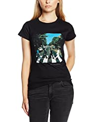 The Beatles Abbey Road T-Shirt à manches courtes pour femme