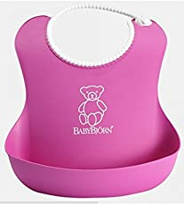 J Go Waterproof Silicone Bib for Infants and Toddlers (6M to 5 Yr) - Unisex || Hygienic, Safe, Easy to Clean, Keep Stains Off