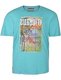 Camiseta Redfield estampada en tallas XXL y color turquesa
