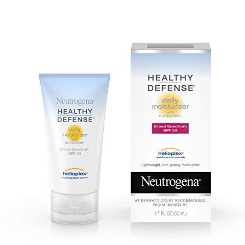 Neutrogena Healthy Defense Daily Moisturizer with Helioplex SPF-50, 50ml
