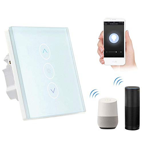 Smart Lichtschalter, leegoal WiFi Dimmer Wireless Schalter arbeitet mit Amazon Alexa Google Home IFTTT, IOS Android App Fernbedienung, kein Hub erforderlich, Timing-Funktion, Überlastschutz