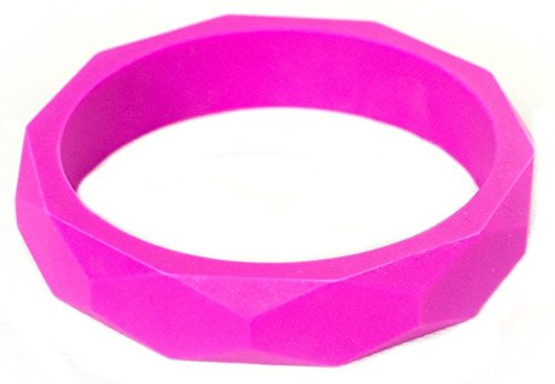 itzy-ritzy-teething-happens-silicone-jewellery-baby-bangle-bracelet-pink-geometric