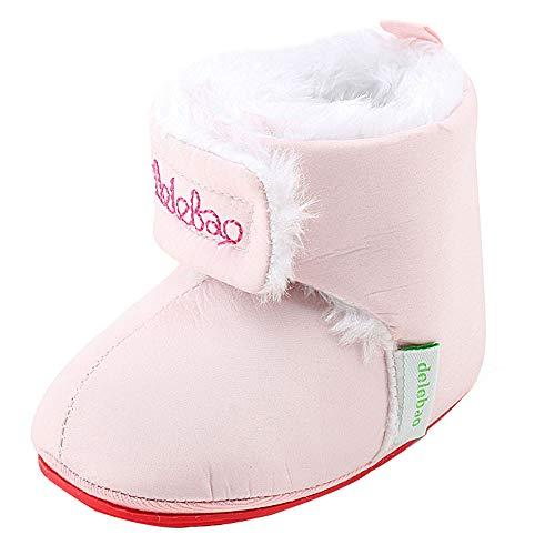 56df97ead ... Recién Nacido Niñas Niños Caliente Invierno Botas Bebe Reborn Primeros  Pasos Zapatos de Suela Blanda. enero 11