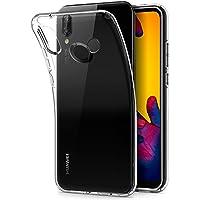 Spigen [Liquid Crystal] Huawei P20 Lite Hülle (L22CS23072) Transparent TPU Silikon Handyhülle Kratzfest Durchsichtige Schutzhülle Flex Case (Crystal Clear)