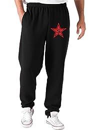 Cotton Island - Pantalones Deportivos T0896 stella rossa comunismo politica