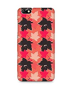 Amez designer printed 3d premium high quality back case cover for Huawei Honor 4X (Leaves maple surface texture)
