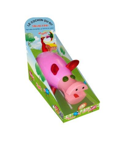 Dujardin - 10016 - Tirelire - Le Cochon Qui Rit - Rose