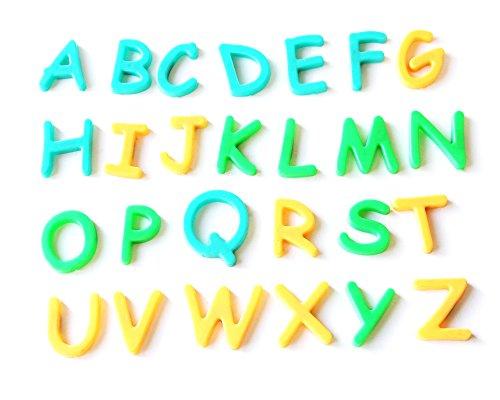 Lernspielzeug Magnetic Alphabet Kids Kind Spaß 3+ Letters Toy (Auf Spielen Kostüm Sie Worte)