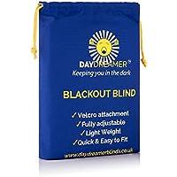 New - Daydreamer Blinds Velcro Stick On Adjustable Blackout Blind - Twin Pack