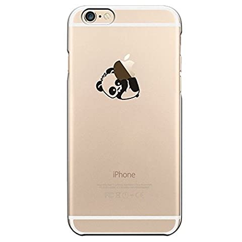 AAABest Coque iPhone SE Coque ,Iphone 5s Coque , AAABest Coque iPhone SE/5S/5 Transparente Cute Motif Premium TPU Souple Etui de Protection [absorbant les chocs] [Ultra mince] [Anti-rayures] pour iPhone SE/5S/5 - panda