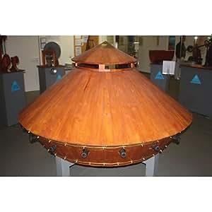 Maquette en bois - Léonard de Vinci : Char d'assaut