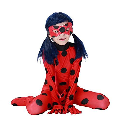 Imagen de hallowmax disfraz de halloween de la mariquita para los niños, el uniforme de cosplay, traje gracioso y bonito alternativa