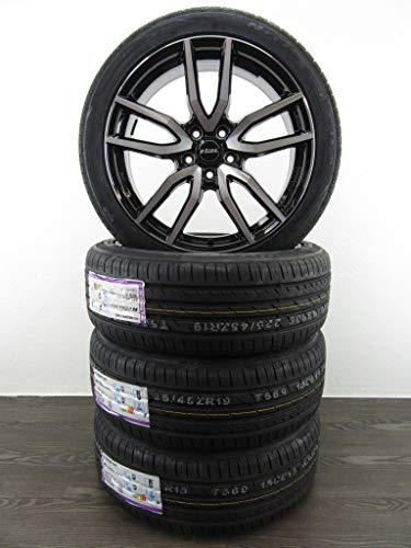 4 ruote estive, 8J, 19 pollici, adatte per cerchioni in alluminio QX30 AWD H15, cerchioni Rial Torino Nexen SU4