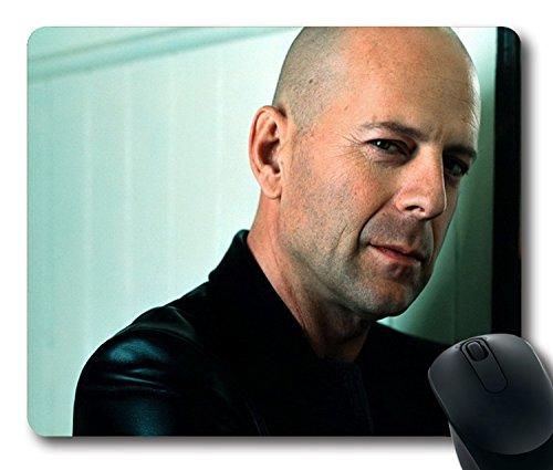 Custom ratón para videojuegos con Brad Pitt Cara Hombre Productor Reloj antideslizante goma de neopreno tamaño estándar 22,86cm (220mm) X 7cm (180mm) X 1/8(3mm) escritorio Mousepad Laptop Mousepads cómodo alfombrilla para ratón de ordenador, color Color 13