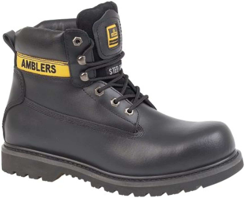 Amblers Steel FS9 - Stivali Antinfortunistici - Uomo | Modalità moderna  | Scolaro/Ragazze Scarpa