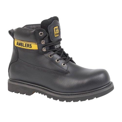 Amblers Steel FS9 - Chaussures montantes de sécurité - Femme Noir