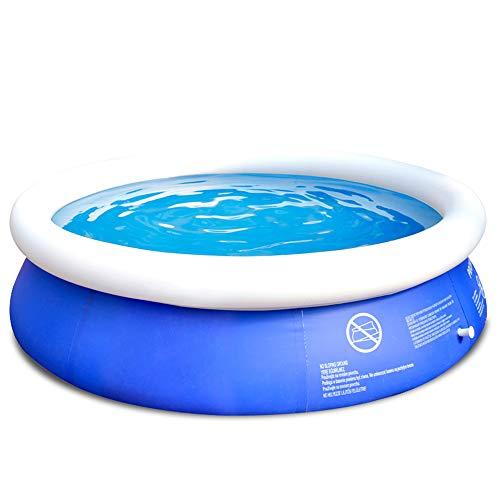 TXDY Piscina Inflable para niños, Piscina Redonda 180x73 cm Piscina de natación Juguete de natación Cubo de natación, Jardín Interior al Aire Libre Piscina para remar Familia al Aire Libre