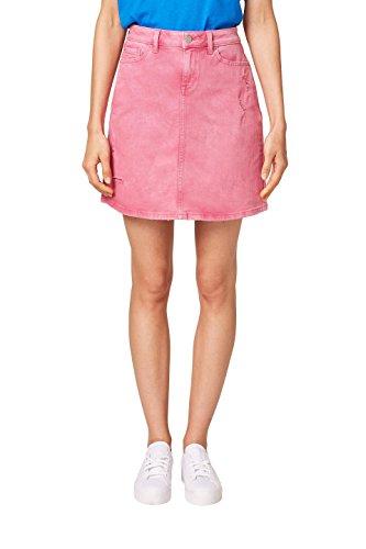 ESPRIT Damen Rock 068EE1D011, Rosa (Pink Fuchsia 660), 38