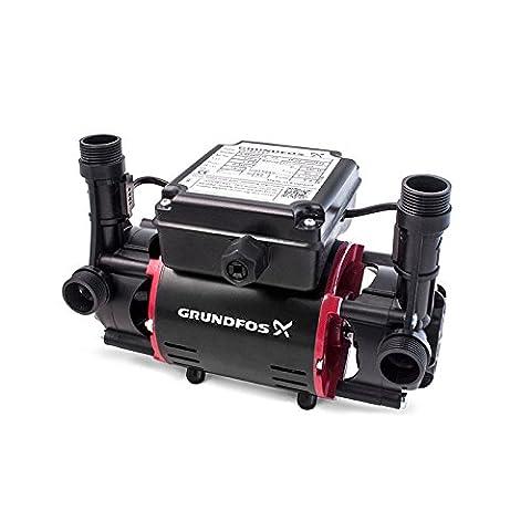 Grundfos STR2-2.0C Twin Impeller Shower Pump