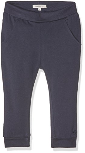 Noppies Unisex - Baby Hose U Pants Jersey Reg Humpie, Einfarbig, Gr. 74, Blau (Navy C166)