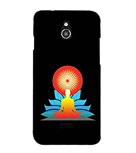 printtech Meditation Aura Back Case Cover for  Infocus M2 4G