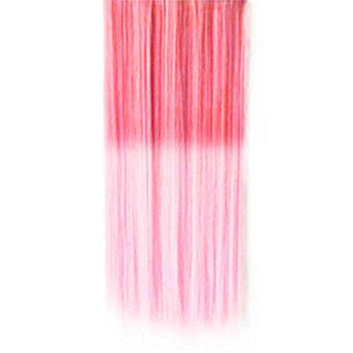 LUFA Hoher heller Haarteil-gerader Klipp in der Haar-Verlängerungs-Perücke (Halloween Kostüme Herkunft)