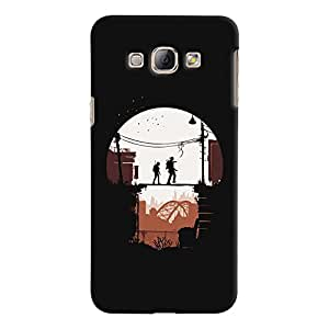 ColourCrust Samsung Galaxy A8 (2015) Mobile Phone Back Cover With Travellers Quirky - Durable Matte Finish Hard Plastic Slim Case