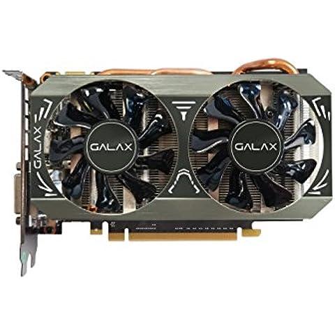 GALAX GeForce GTX 960 OC 2GB GeForce GTX 960 2GB GDDR5 - Tarjeta gráfica (NVIDIA, GeForce GTX 960, 4096 x 2160 Pixeles, 2-Way SLI, 2048 x 1536 Pixeles, 4096 x 2160 Pixeles)