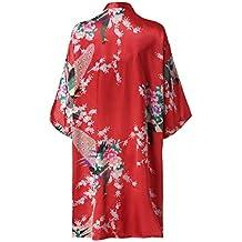 Rcool Camisones Batas y Kimonos Camisones Mujer Camisones Verano Camisones Tallas Grandes Mujer,Encaje de