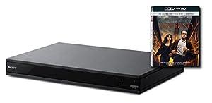 Sony UBP-X800Blu-ray-Player 4K UHD Hi Bluetooth RES Audio?Schwarz?Lieferung mit dem Blu-ray 4K Inferno