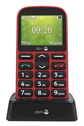 Doro 1360 Téléphone portable débloqué 2G (Ecran : 2,4 d'occasion  Livré partout en Belgique