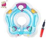 Endureal Kleinkind Kinder Schwimmender Schwimmen Ring Aufblasbarer Baby Schwimmring Kommt mit Einer Hand-Schnellpumpe by (Blau)