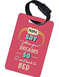 The Crazy Me FOLLOW YOUR DREAMS LUGGAGE TAG (SET OF 2)
