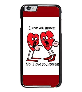 PrintDhaba Quote D-3996 Back Case Cover for APPLE IPHONE 6 PLUS (Multi-Coloured)