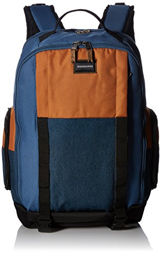 QUIKSILVER Men\'s Holster Backpack, BLUE NIGHTS HEATHER, 1SZ