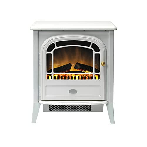 41PlCHGpWDL. SS500  - Dimplex CVL20E Courchevel Electric Stove with Optiflame Effect, 2 kW, 230 W, White
