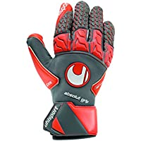 UHLSPORT - AERORED ABSOLUTGRIP REFLEX - Gant gardien football - Mousse Absolutgrip - Coupe REFLEX CUT -