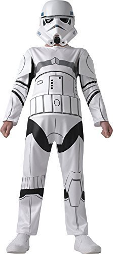 New Kids Star Wars Storm Trooper Boys Fancy Dress Costume Childs Party Outfit 5-6 Years by Rubies (Trooper Outfits Storm)