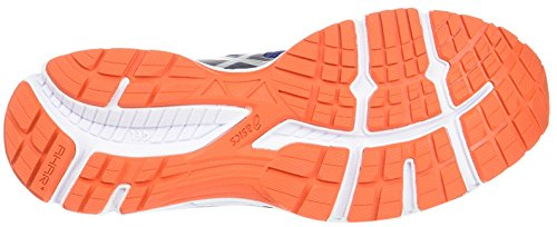 Women ASIC Chart Gel cobalt deep orange red 3 silver PPqwrEd