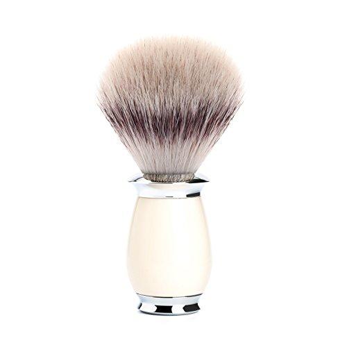 MÜHLE - Rasierpinsel - PURIST Serie - Silvertip Fibre - Edelharz elfenbein -