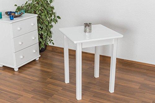 Tisch 60x60 weiß