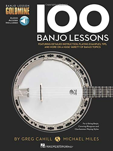 100 Banjo Lessons: Guitar Lesson Goldmine Series