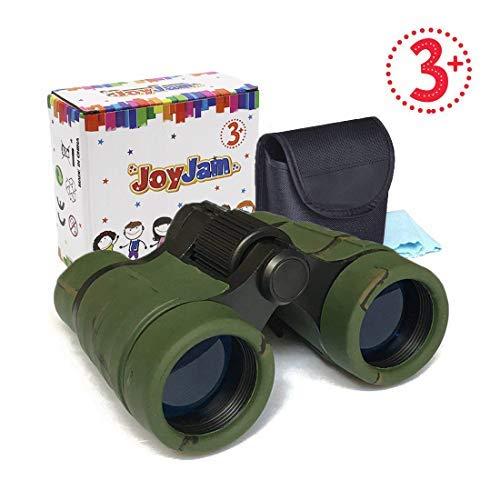 Giocattoli per bambini joy-jam binocolo mini kids compatto giocattoli all'aperto safari caccia birdwatching regalo per ragazzi di 5-7 anni camouflage camuffare