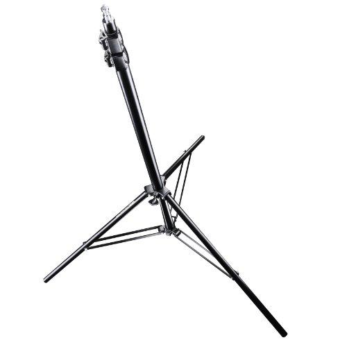 Walimex Pro FW-806 AIR Lampenstativ (max. Höhe 280 cm, 2 luftgefederte Segmente, max. Belastbarkeit ca. 6kg) -