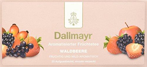 Dallmayr Tee Aufgussbeutel - Früchtetee Waldbeere (1 x 62,5 g)
