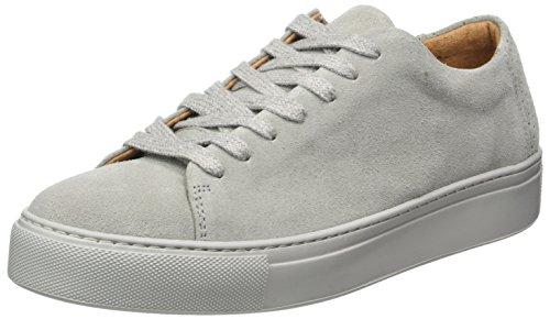 SELECTED FEMME Sfdonna New Suede Sneaker, Scarpe da Ginnastica Basse Donna Grigio (Grey)