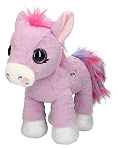 Depesche 8810Peluche ylvi y la minimoomis, Pony liloo, Aprox. 33cm, Color Lila