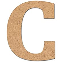 Detalles Infantiles - Letra madera manualidades 10cm C